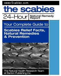 Scabies 24 Hour Natural Remedy Ebook